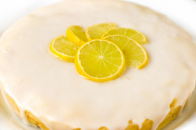 Eggless Lemon Drizzle Cake (The improved version)