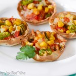 Mexican Style Mini Tortilla Pizzas