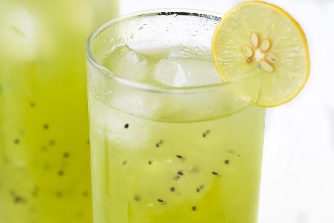 Kiwi Basil Lemonade