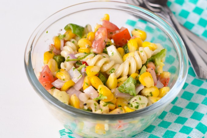 Sweet Corn and Pasta Salad