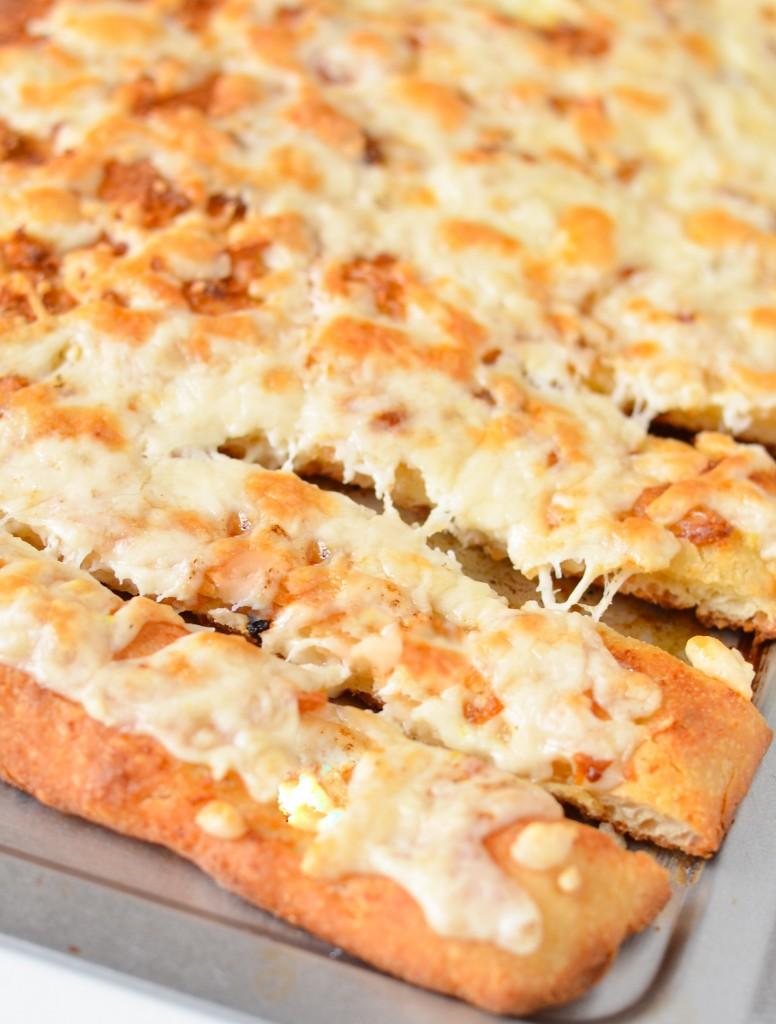 Cheesy Garlic Breadsticks