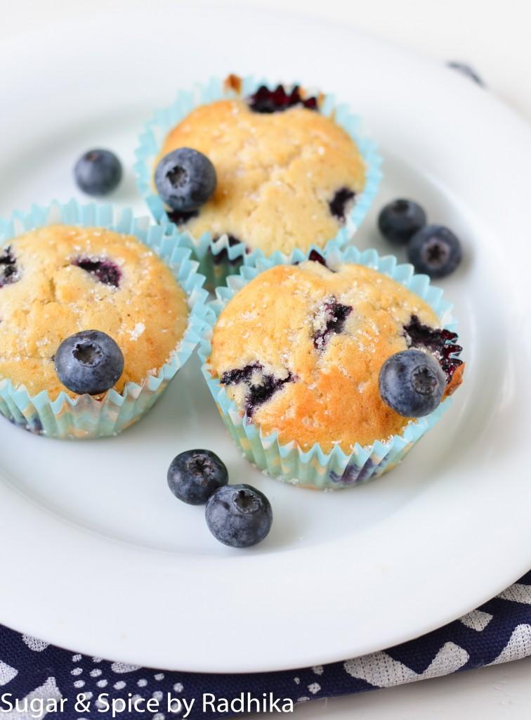 Blueberry Cinnamon Muffins