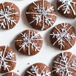 Snowflake Chocolate Cookies