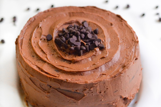 Hershey's Chocolate Cake with Chocolate Frosting Recipe
