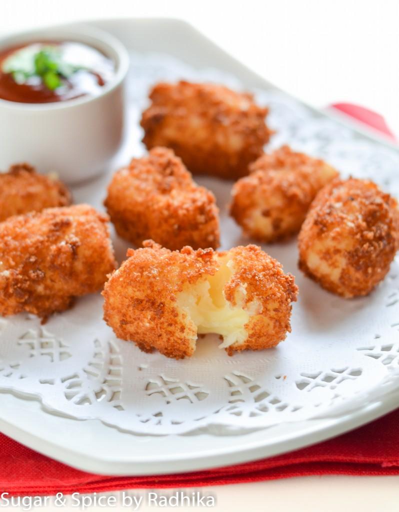 Crispy Mozarella Bites