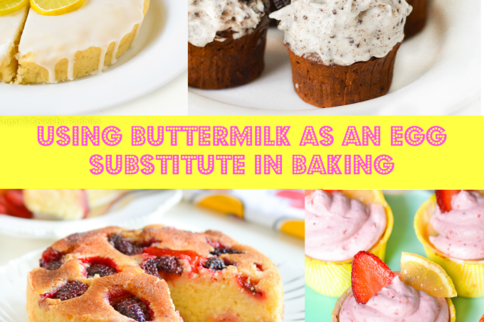 Using Buttermilk as an Egg Substitute in Baking