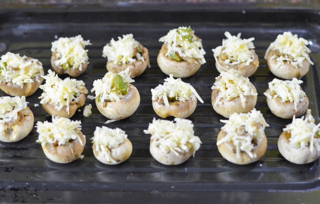 Cheesy Stuffed Mushrooms