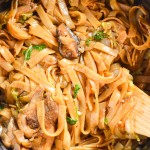 Rice Stick Noodles with Shiitake and Oyster Mushrooms – Cook Gourmet