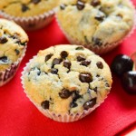 Cherry and Chocolate Chip Muffins