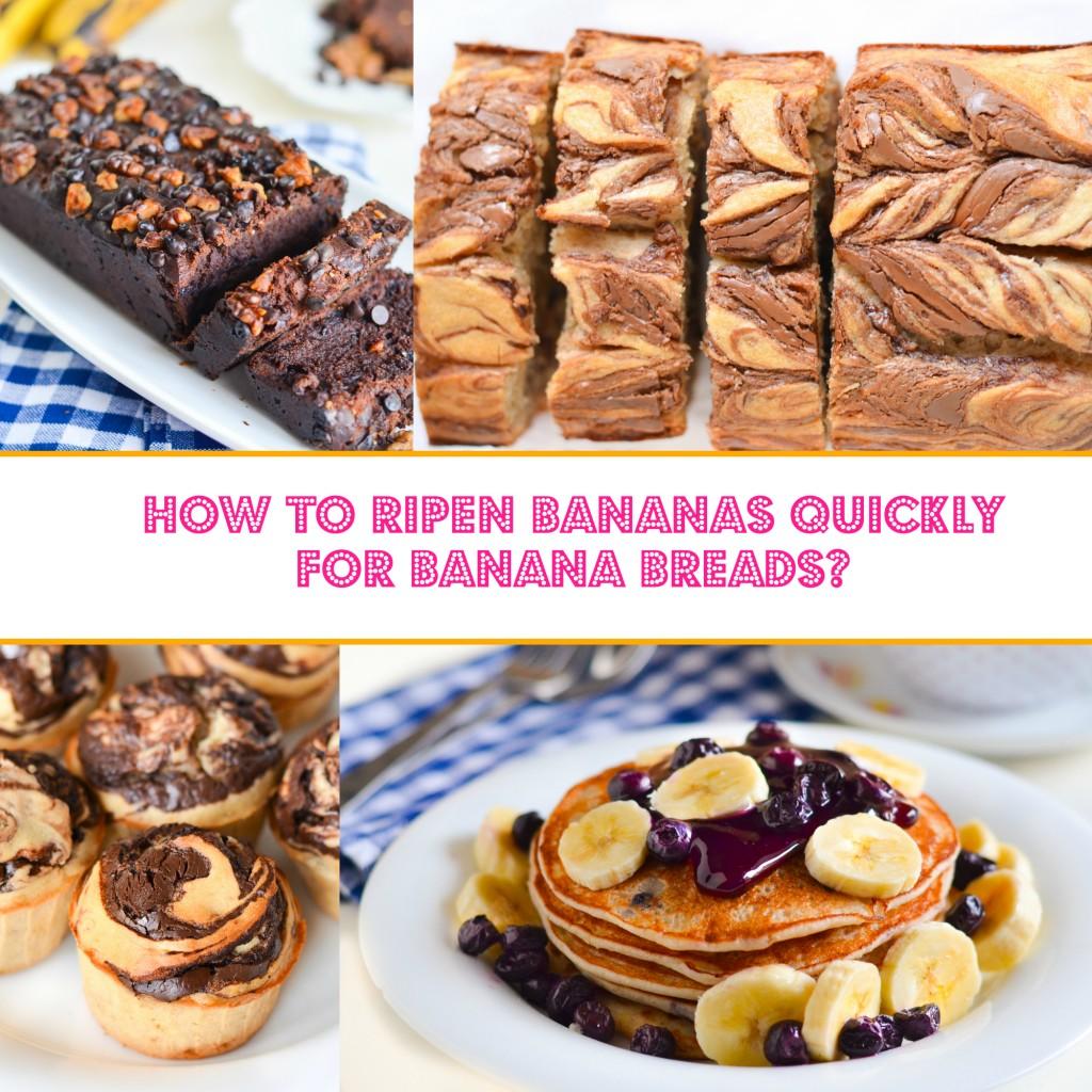 How To Ripen Bananas Quickly For Banana Bread Recipes?
