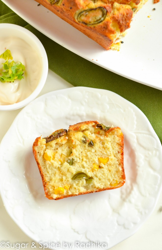 Cheesy Jalapeno and Corn Loaf