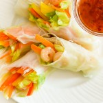 Crunchy Rice Paper Rolls