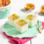 Vanilla Panna Cotta with Passion Fruit