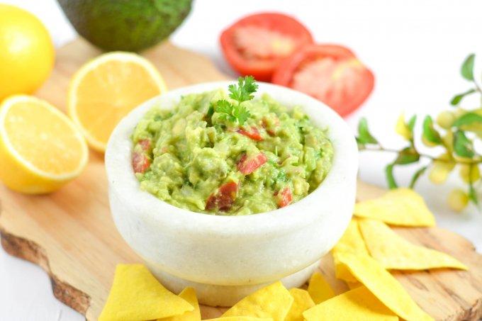 Quick and Easy Guacamole Dip