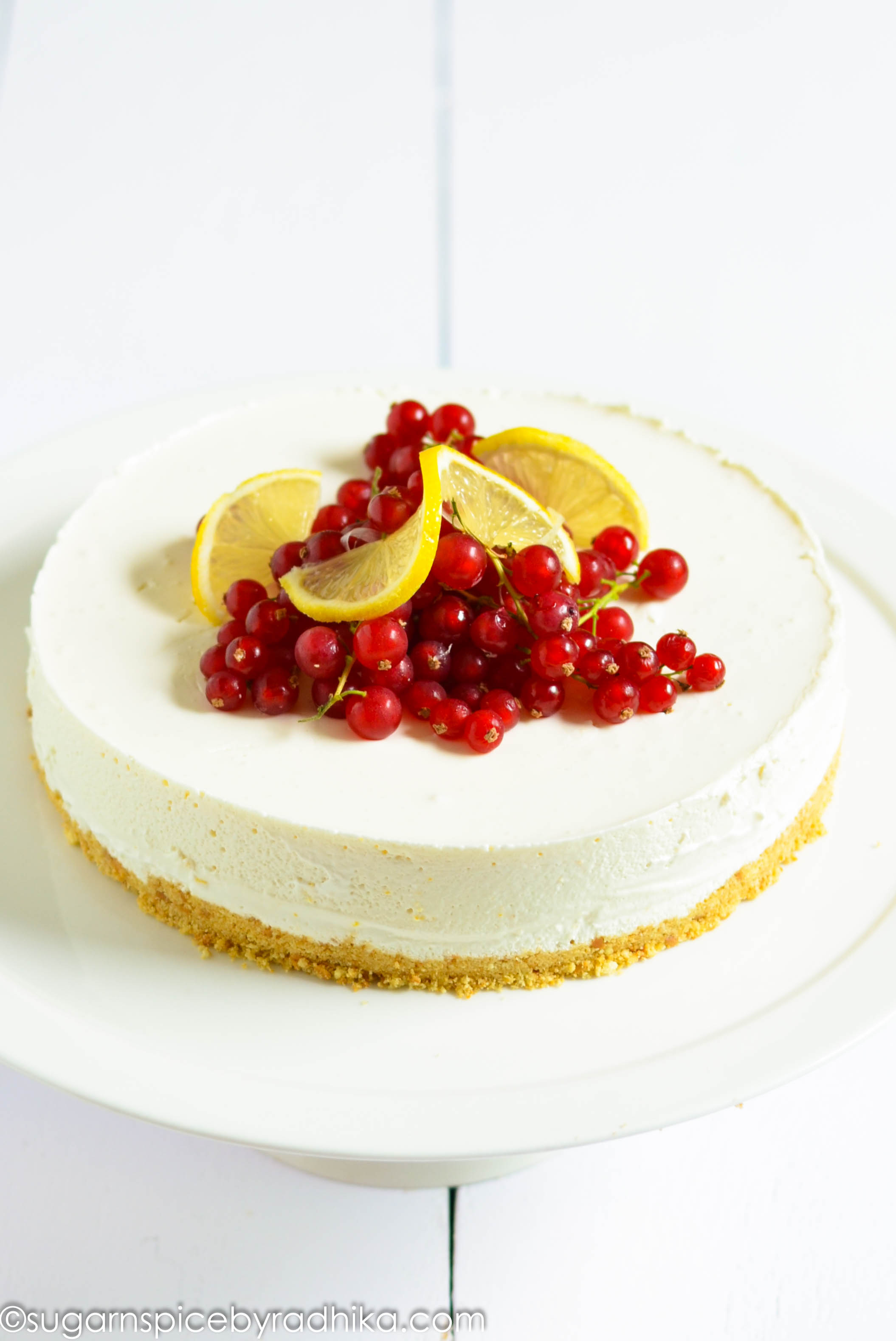 NoBake Lemon Cheesecake