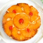 Pineapple Upside Down Cake (Eggless) VIDEO