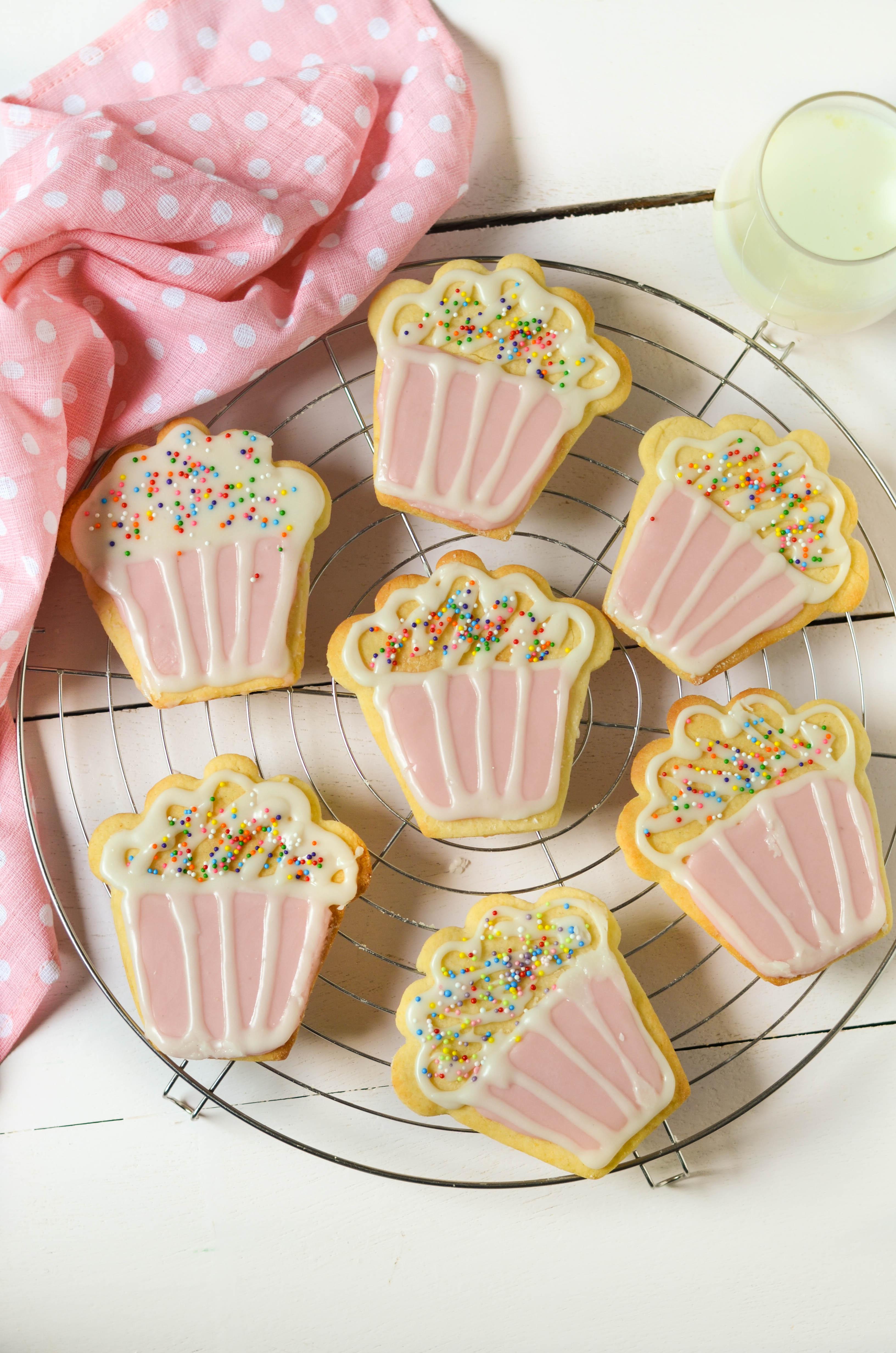 Cupcake Cookies (eggless)