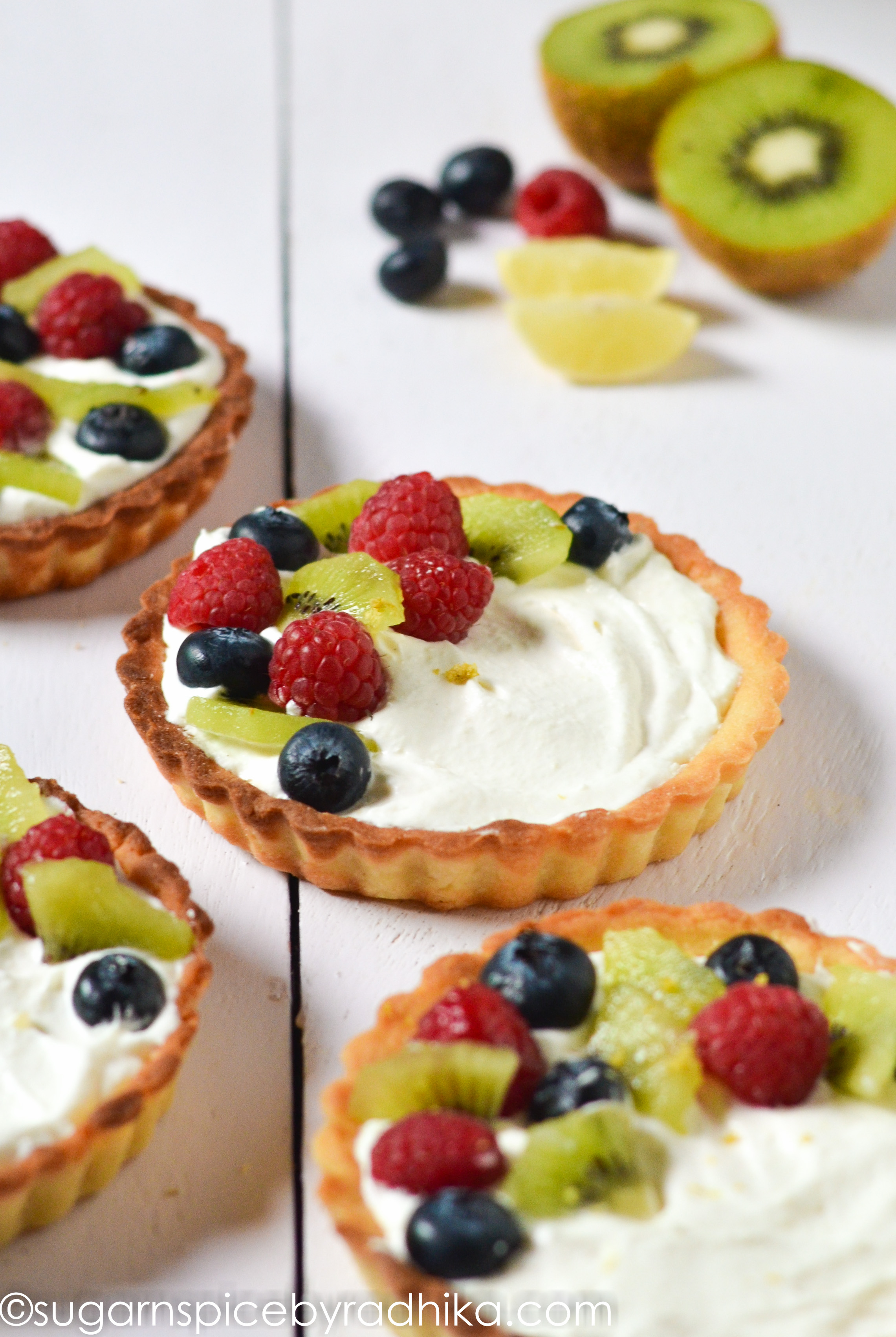 Berry Tart with Lemon Mascarpone Cream