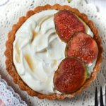 fig and mascarpone tart