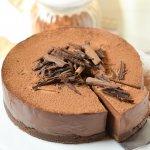 No-Bake Chocolate Truffle Cake (Eggless)