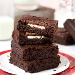 Oreo Brownies (Eggless)