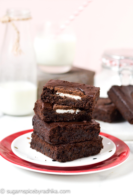 Oreo Brownies (eggless)