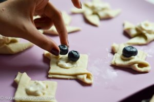 Mini Puff Pastry Tarts