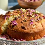 Thandai Rose-Pistachio Cake