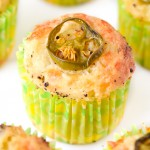 Cheese and Jalapeno Muffins