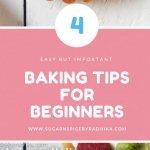 4 Baking Tips for Beginners