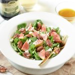 fig and goats cheese salad
