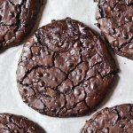 Flourless Chocolate Fudge Cookies