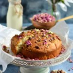 Thandai Rose Pistachio Cake